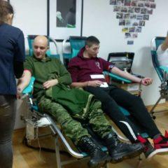 Prvoj ovogodišnjoj akciji darivanja krvi pristupio 41 darivateljgall-1