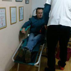 Prvoj ovogodišnjoj akciji darivanja krvi pristupio 41 darivateljgall-5