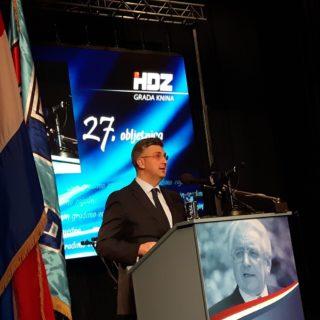 Josipa Rimac predložila, a premijer Plenković prihvatio: Tematska sjednica Vlade RH o Kninu održat će se u Kninu 4. kolovozagall-0