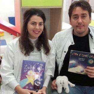 Stomatolozi u kninskoj knjižnici čitali djeci pričegall-0