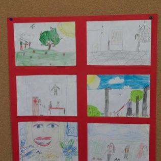 U knjižnici izložba dječjih radova o tolerancijigall-2