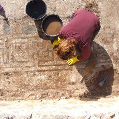 Foto: Kninski muzej završio ovogodišnju kampanju otkrivanja rimskog mozaika i konzervacije rimske vile u Orlićugall-7