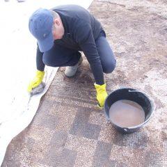 Foto: Kninski muzej završio ovogodišnju kampanju otkrivanja rimskog mozaika i konzervacije rimske vile u Orlićugall-8