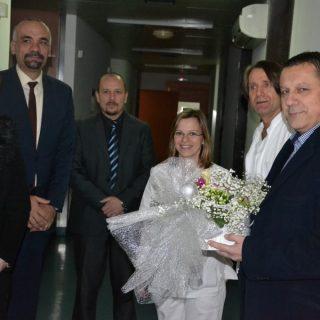 Zamjenici župana Blažević i Šimpraga i gradonačelnik Jelić posjetili jutros rodilištegall-0