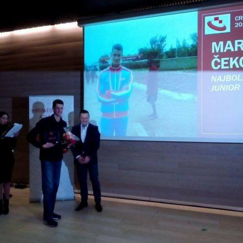 Marko Čeko proglašen za najboljega mlađeg juniora hrvatske atletikegall-0