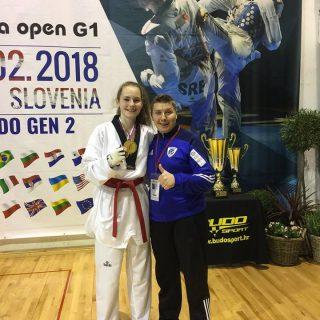 Zlatna medalja Petre Batić na jakom Slovenia Openugall-0