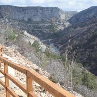 NP Krka predstavlja novi vidikovac u kanjonu Čikolegall-1