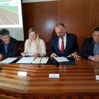 Janica Kostelić i Marko Jelić potpisali Sporazum vrijedan 1,5 milijuna kuna o sufinanciranju izgradnje 400-metarske atletske stazegall-2