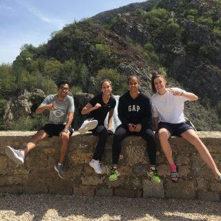 Sportaši promoviraju Knin: Matea Jelić ugostila brazilsku reprezentativku kako bi joj pokazala kninske prirodne ljepotegall-1