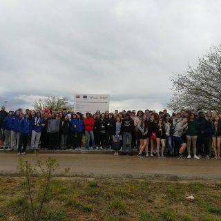 Učenici iz 9 zemalja EU na predstavljanju projekta Nepoznata Krka: skrivena blaga gornjeg  i srednjeg toka rijeke Krkegall-0