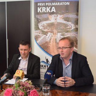 Prekosutra Krka polumaraton; Na konferenciji za novinare predstavljeni detalji utrkegall-1