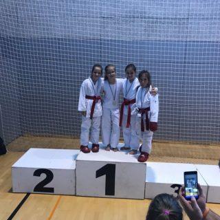 Nove tri medalje za Karate klub Kningall-1