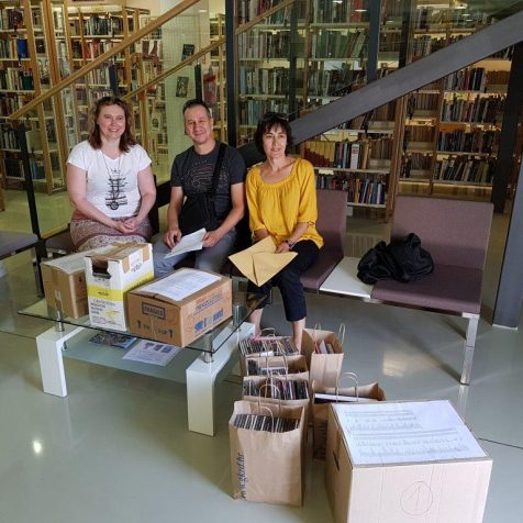 Gradska knjižnica Zadar donirala kninskoj knjižnici 500 CD-ovagall-0