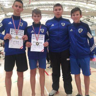 Josip Teskera iz TKD DIV Knin juniorski prvak Hrvatske! Pratljačić brončani!gall-1