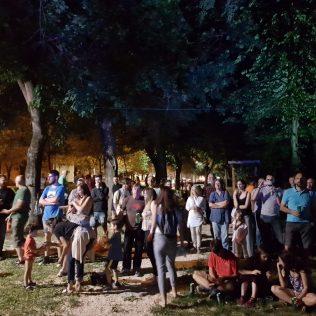 Jazz svirka u parku: Knin je grad!gall-0
