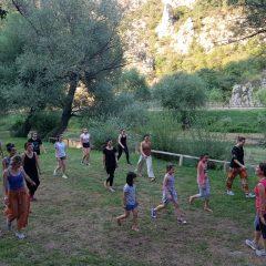 Foto: Održan tečaj prirodnog pokreta i plesa uz Krkugall-4