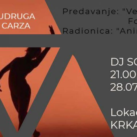 U subotu (prekosutra) u Kninu trening prirodnog plesa drži Marija Šćekić; Navečer mjuzu pušta DJ Sorichgall-1
