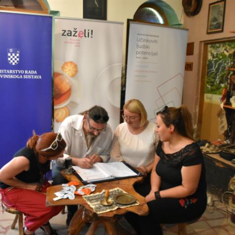 Bravo! Ministarstvo rada i Ekološka udruga Krka potpisali ugovor za projekt vrijedan 1,7 milijuna kunagall-1