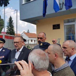 Ministar Božinović posjetio obnovljenu zgradu Policijske postaje Kningall-0
