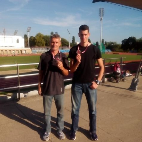 Nakon skoka u dalj drugi i na 200 metara; Drugo srebro Marka Čeke na PH za mlađe senioregall-1