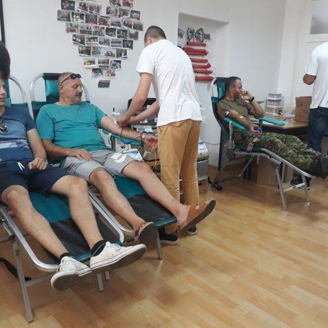 Akciji darivanja krvi pristupila 64 darivateljagall-0