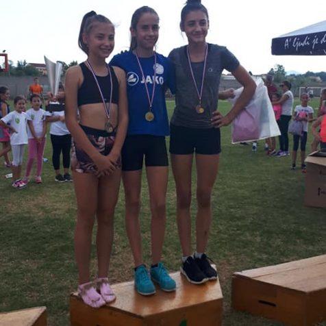 Daniela Jelić osvojila zlata u skoku u dalj i u utrci na 60 metara na međunarodnom turniru u Čitluku u BiHgall-1