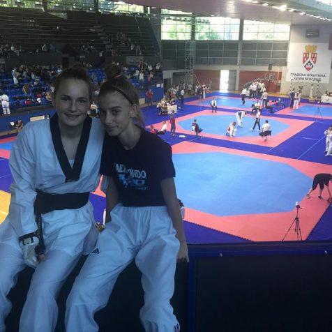 Kristina Jakovljević iz TK DIV Knin brončana na otvorenom prvenstvu Srbijegall-0