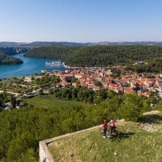 NP Krka: Otvoreno novih 470 km biciklističkih rutagall-2