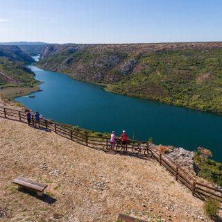 NP Krka: Otvoreno novih 470 km biciklističkih rutagall-1