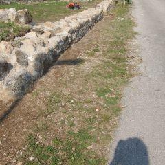 Završeni  ovogodišnji radovi konzervacije na položaju mletačke vojarne konjice u podgrađu kninske tvrđavegall-6
