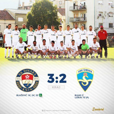 Prva utakmica seniora u Županijskoj ligi: Dinara – Šibenik II 3:2gall-1