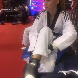 Kristina Jakovljević iz TK DIV Knin srebrna na jakom G1 turniru – Serbia Openugall-1