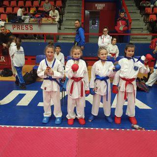 Dva odličja za Karate klub Kningall-1