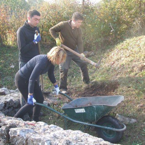 Završeni ovogodišnji radovi konzervacije na položaju Orlić- dolina u Općini Biskupijagall-1