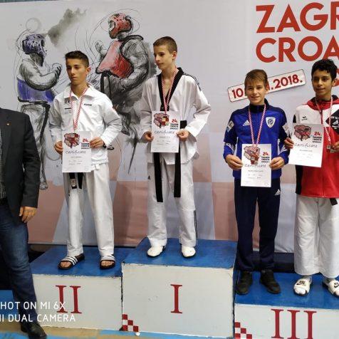 Mateo Pratljačić iz TK DIV Knin brončani na G1 turniru Croatia Openugall-0