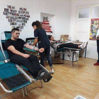 Akcija darivanja krvi: Prikupljeno 39 doza krvigall-1