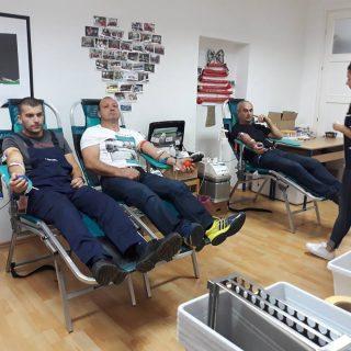 Akcija darivanja krvi: Prikupljeno 39 doza krvigall-0