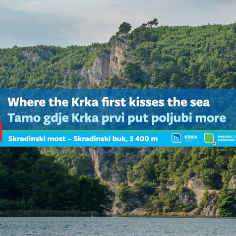 NP Krka predstavlja svoje pješačke staze: Skradinski most – Skradinski buk, 3 400 m.gall-0
