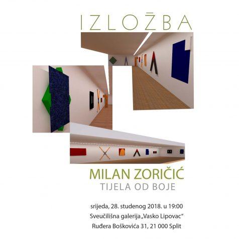 U srijedu otvorenje izložbe Milana Zoričića u Sveučilišnoj galeriji u Splitugall-0