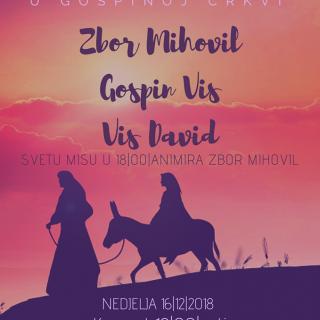 Zbor Mihovil sutra (u nedjelju) u Crkvi GVHKZgall-0