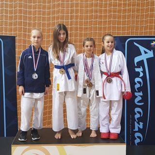 Pregršt medalja Karate kluba Knin na Grand Prixu Međimurje 2019.gall-1
