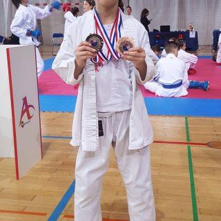 Pregršt medalja Karate kluba Knin na Grand Prixu Međimurje 2019.gall-2