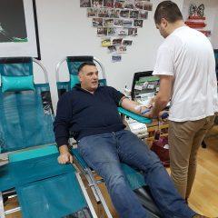 Na prvoj ovogodišnjoj akciji prikupljene 42 doze krvigall-4