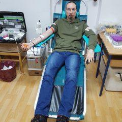 Na prvoj ovogodišnjoj akciji prikupljene 42 doze krvigall-5