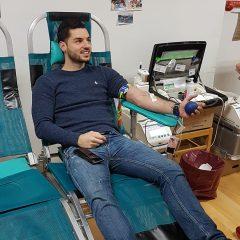 Na prvoj ovogodišnjoj akciji prikupljene 42 doze krvigall-6