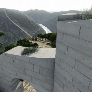Predstavljen projekt visećeg pješačkog mosta Nečven – Trošenj.gall-1