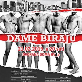 "U Kninu 21. 2. hit predstava ""Dame biraju""gall-0"