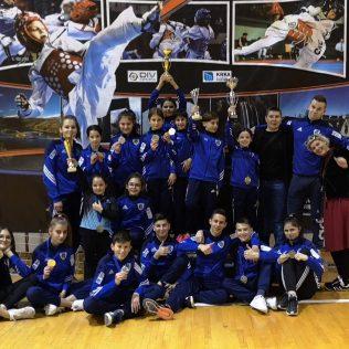 17 medalja, 4 ekipna plasmana i 3. sveukupno mjesto  za Taekwondo klub DIV Kningall-0