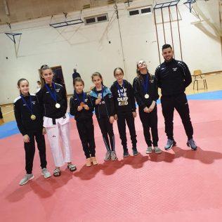 11 medalja TK Olympica na Knin Openugall-2