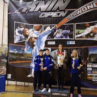 17 medalja, 4 ekipna plasmana i 3. sveukupno mjesto  za Taekwondo klub DIV Kningall-4